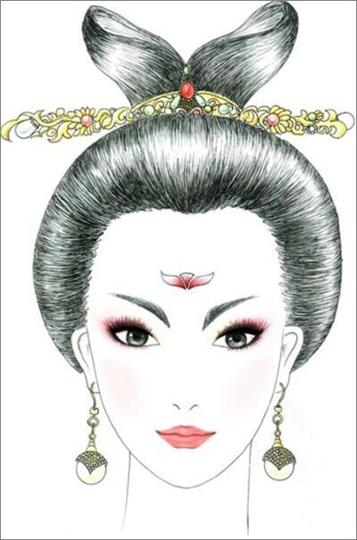 高级化妆班彩绘图